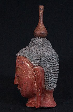 Old Shan Buddha head