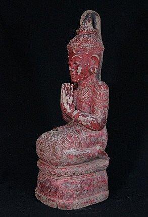 Antique Burmese Devotee