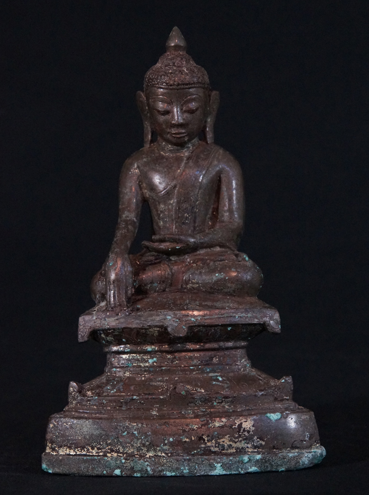 Antique Ava Buddha statue from Burma