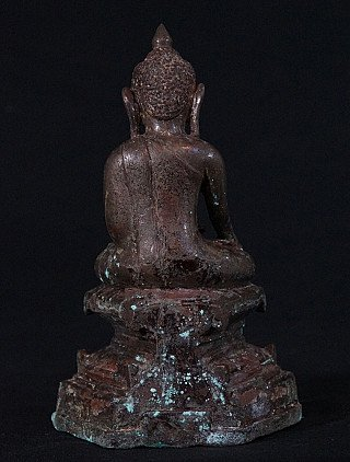 Antique Ava Buddha statue