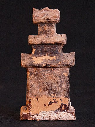 Antique Shan altar with amulet