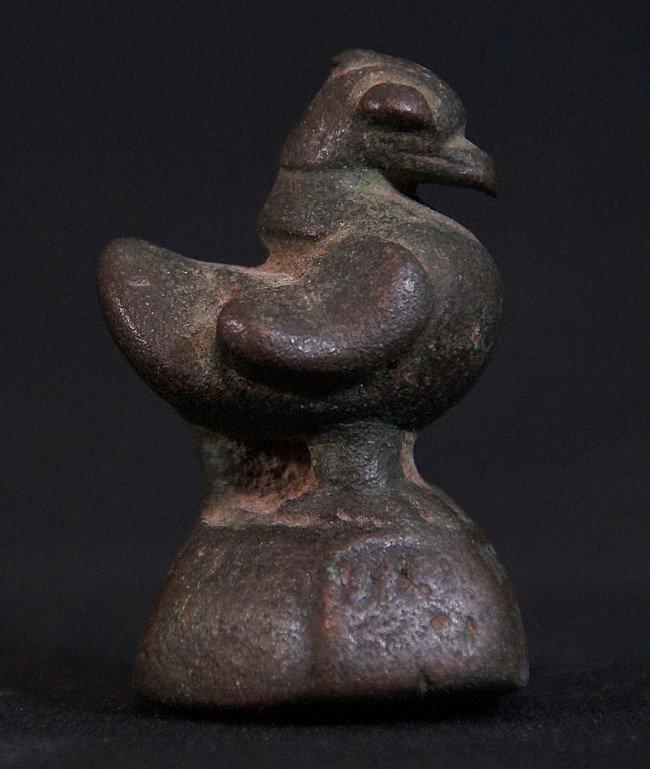 Antiek opiumgewicht