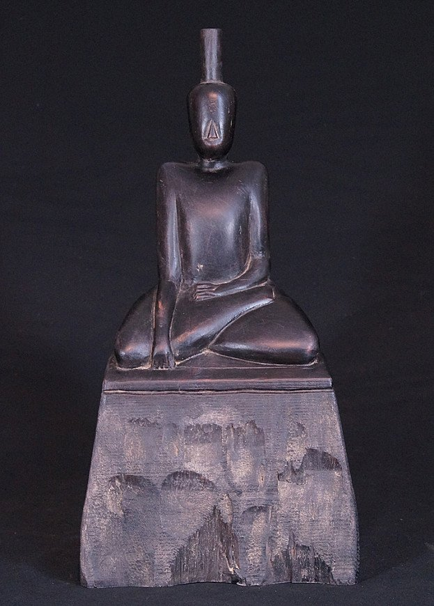 Burmese wooden Buddha