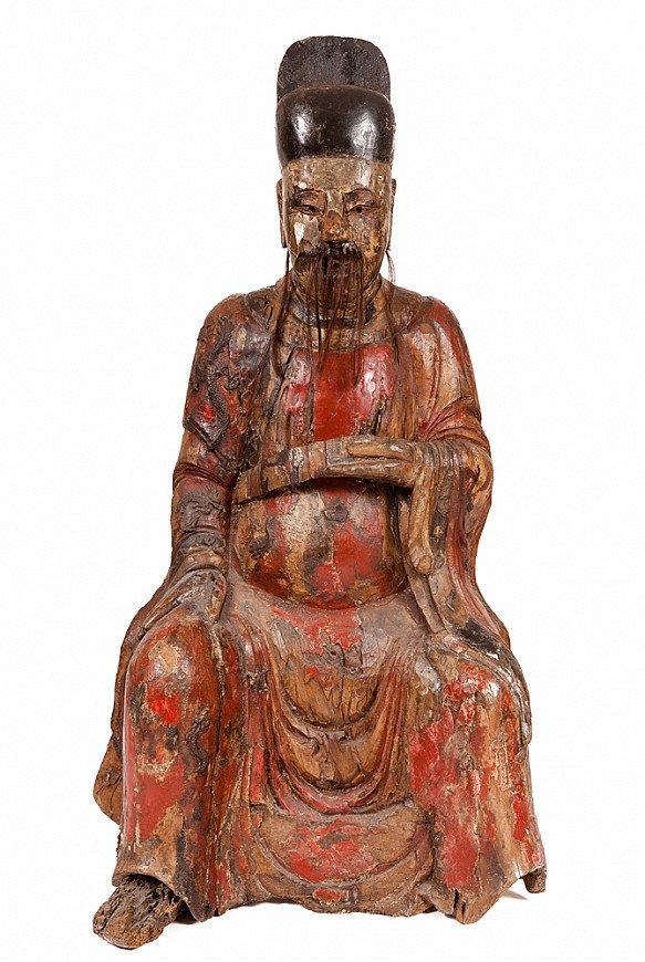 Antiek Chinees Confucius beeld