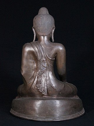 Antiker bronze Mandalay Buddha