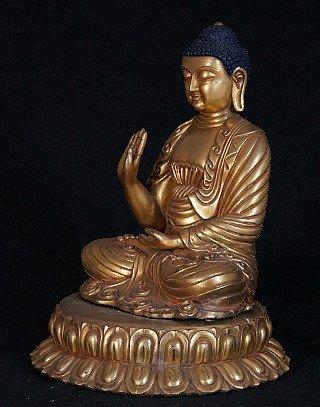Old Japanese Buddha