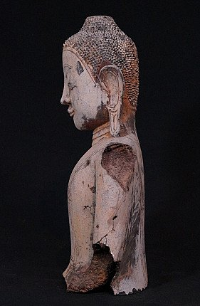 Antique Buddha fragment