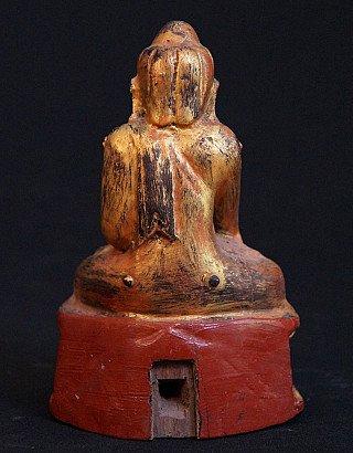 Antique Lotus Buddha