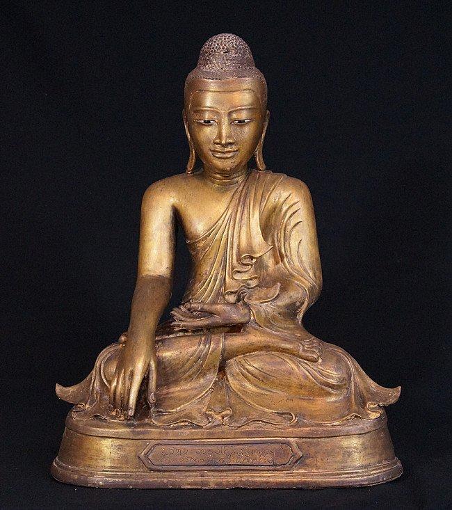 Bronze Mandalay Buddha