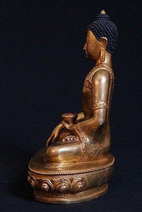 Nepali bronze Buddha