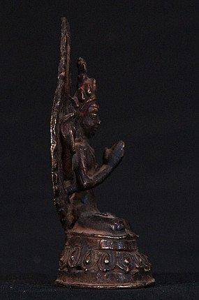 Antique Nepali Chengresi statue