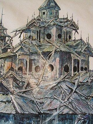 Old Burmese painting