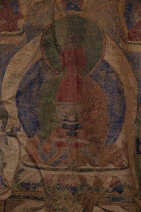 Antique Buddha Thangka