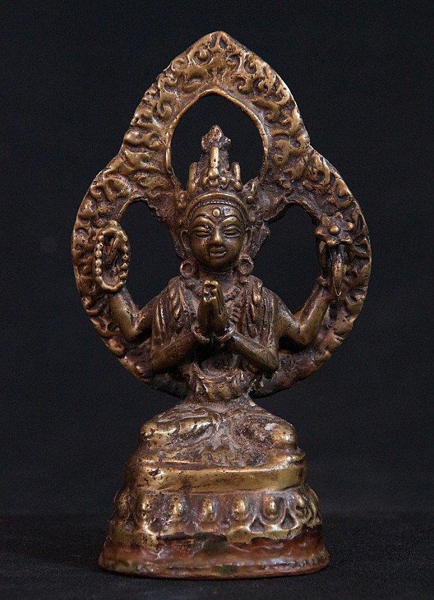 Antique Nepali Bodhisattva