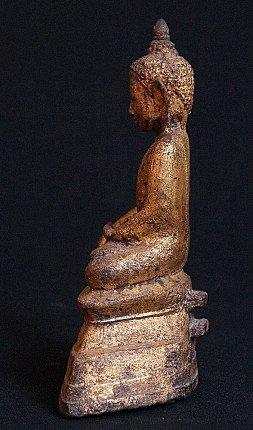 Antique bronze Shan Budha