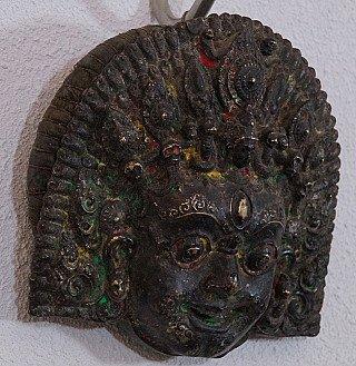 Antique Vairab mask
