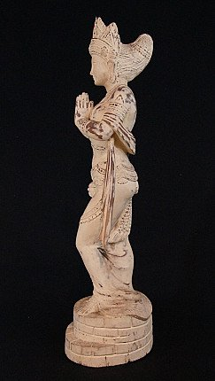 Old wooden Pagan Lady
