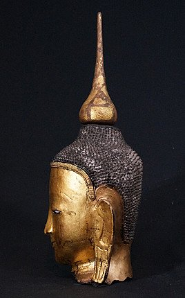 Old Burmese Buddha head