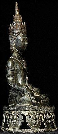 17e eeuwse Laos Boeddha