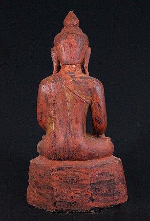 Antique sandstone Buddha