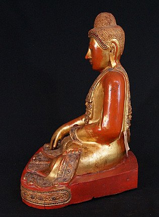 Antique Mandalay Buddha