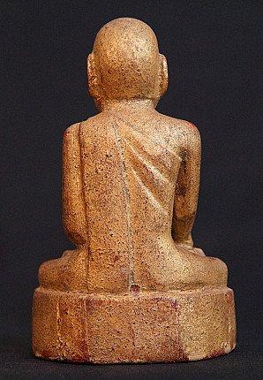 Antique Burmese monk