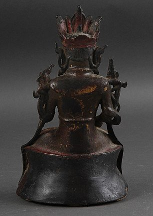 Antique Chinese Guan Yin statue - Ming Dynasty