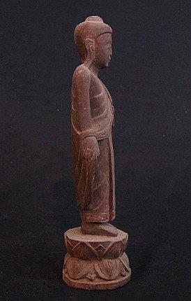 Old standing Buddha