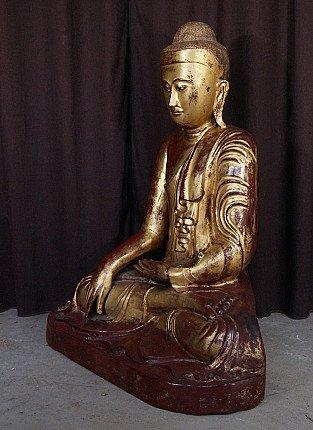 Large antique Mandalay Buddha