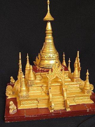 Old Burmese Pagoda