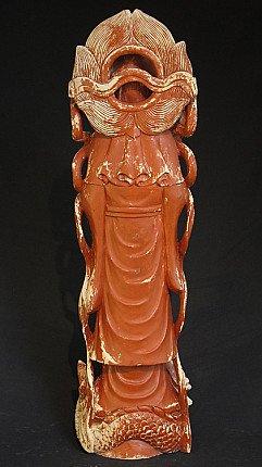 Old Guan Yin statue