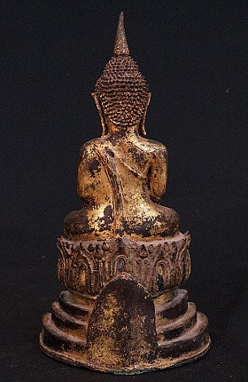 18th century bronze Thai Buddha
