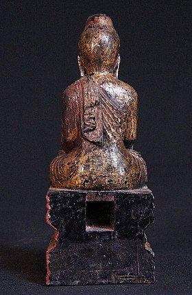 19. Jahrhundert Birmanischer Buddha