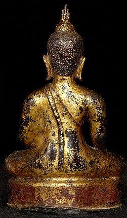 Antique Kaphaeng Phet Buddha