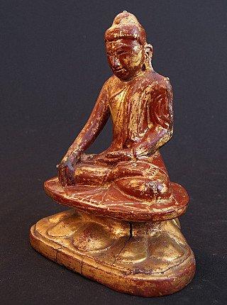 Antique Shan Lotus Buddha