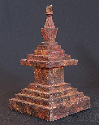 Pair of Nepali Stupas