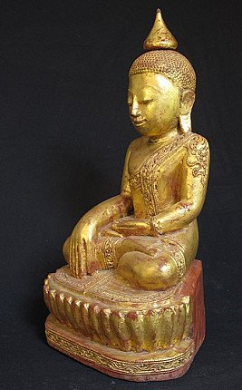 Antique Buddha from Burma