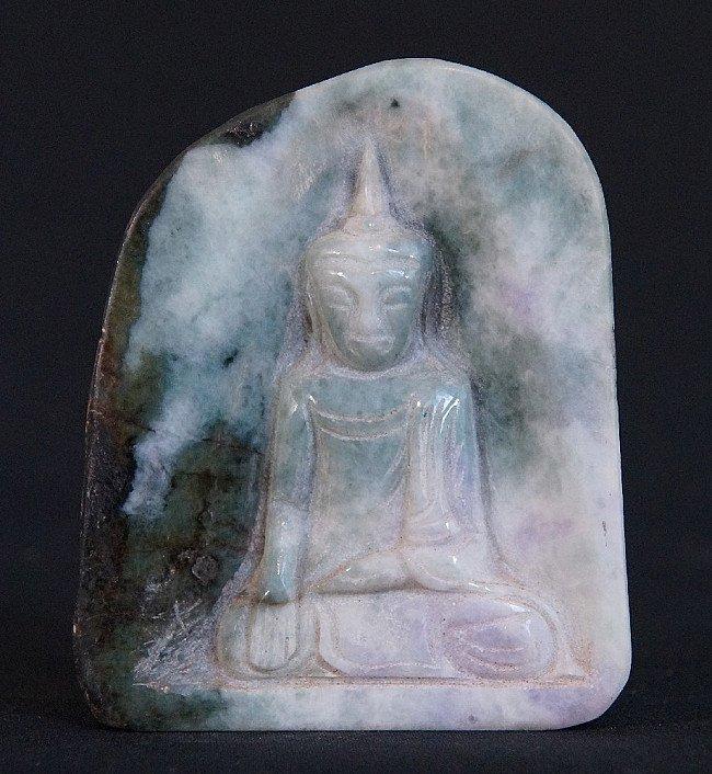 Old Jade Buddha Amulet