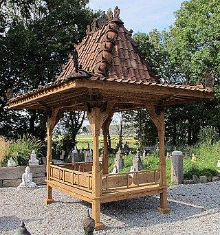 Original teakwooden temple house