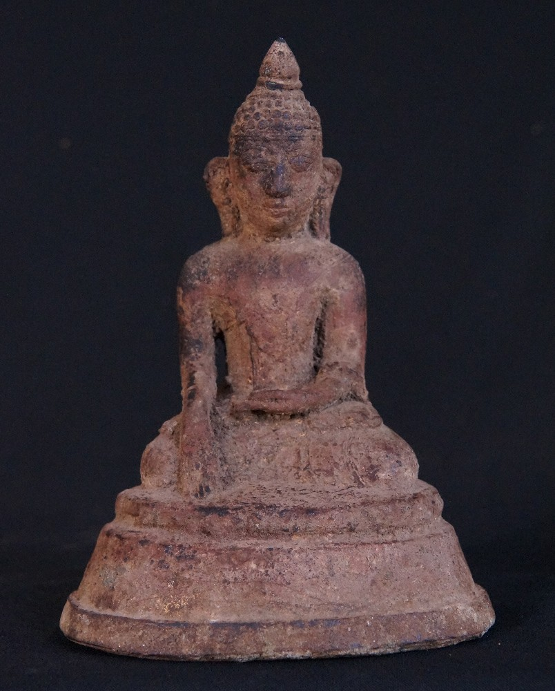 Antique Nyaung-Yan Buddha from Burma