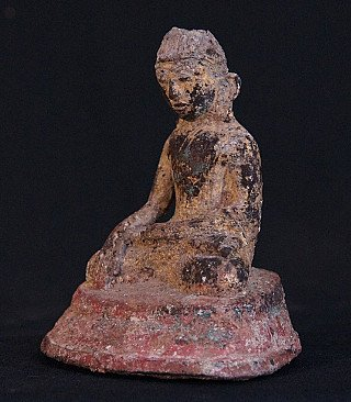 16-17th century bronze Buddha