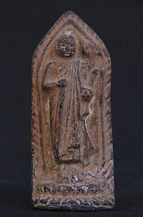 Antiek Monnik amulet