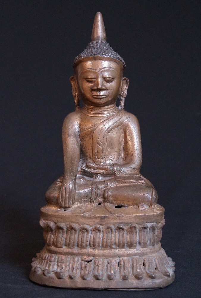 Antique Burmese Shan Buddha from Burma