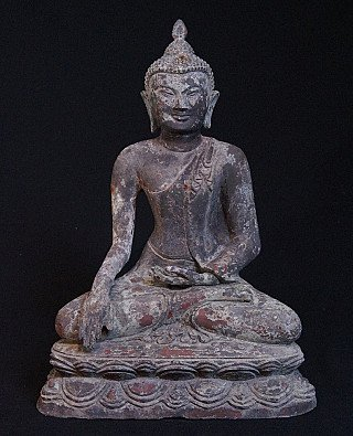 Old bronze Pagan Buddha