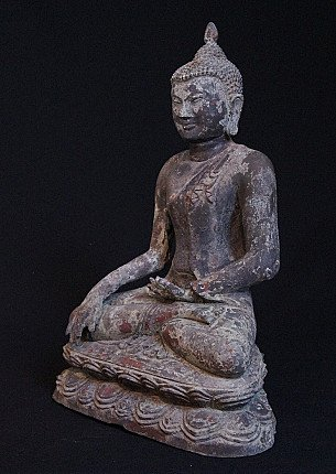 Alter bronze Pagan Buddha