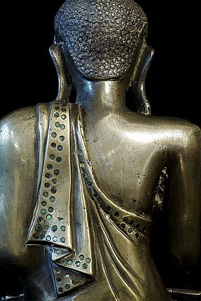 Exceptional antique Mandalay Buddha
