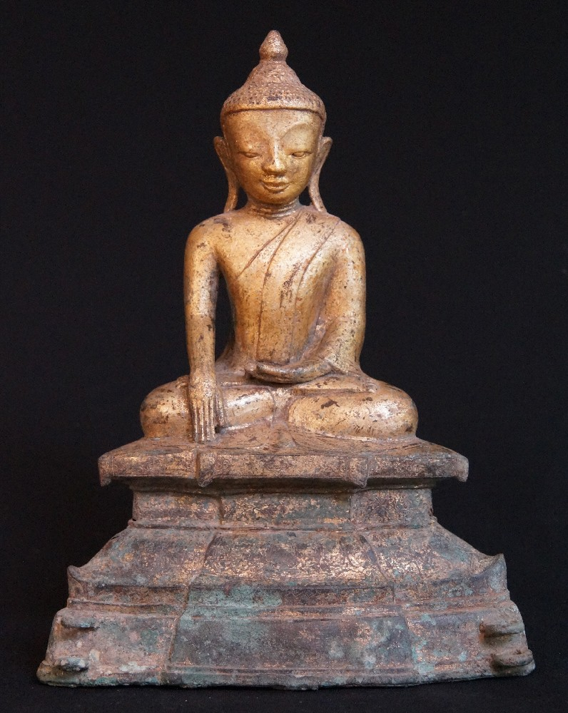 16th century Ava Buddha from Burma