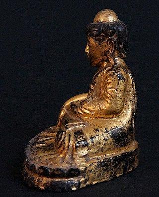 Antiker Lotus Buddha