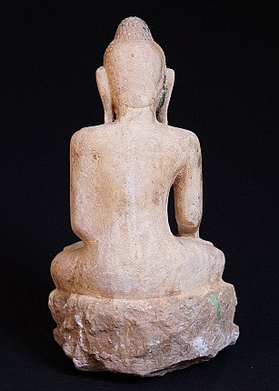 Antique marble Buddha