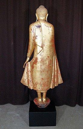 19e eeuwse Mandalay Boeddha